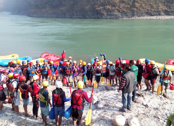 Rafting in Rishikesh